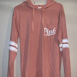 PINK lightweight sweatshirt